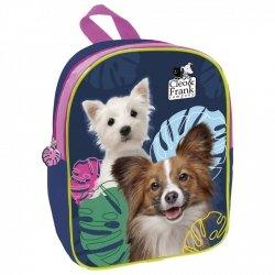 Plecak przedszkolny wycieczkowy CLEO & FRANK Piesek (PL11TCF20)