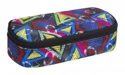Piórnik szkolny COOLPACK CAMPUS  kolorowe wzory geometryczne, GEOMETRIC SHAPES (85342CP)