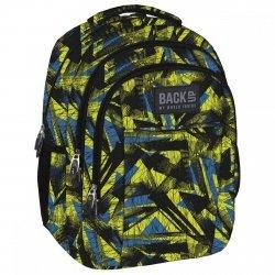 Plecak szkolny młodzieżowy Back UP kolorowe wzory ABSTRACT ART (PLB1H29)