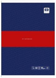Zeszyt A5 60 kartek w kratkę BB PASTEL Granat (55723)