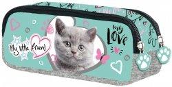 Piórnik saszetka My Little Friend CAT MINT Kotek w turkusie (04838)