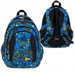 Plecak szkolny ST.RIGHT młodzieżowy XD ART BP4 (27033)