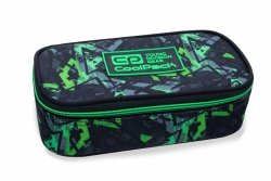 Piórnik CoolPack CAMPUS XL w zielone wzory, ELECTRIC GREEN (B63099)