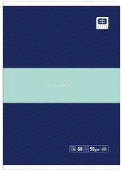 Zeszyt A5 60 kartek w linię BB PASTEL Granatowy (55617)