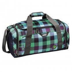 Coocazoo torba sportowa SporterPorter Large Green Purple District (124803)