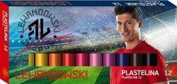 Plastelina szkolna Robert Lewandowski 12 kolorów (72809)