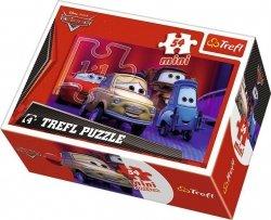 TREFL Puzzle mini 54 el. CARS Auta (19396)