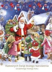Kartka świąteczna przestrzenna BOŻE NARODZENIE 19 x 14 cm + koperta (28704)