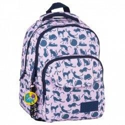 Plecak szkolny młodzieżowy BackUP KOTY (PLB2L18)