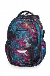 Plecak CoolPack FACTOR w neonowe kwiaty, VIBRANT BLOOM (B02017)
