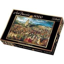 TREFL Puzzle 1000 el. Droga na Kalwarię (10292)
