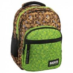 Plecak szkolny młodzieżowy BackUP GAME dla fana gry MINECRAFT  (PLB2M39)