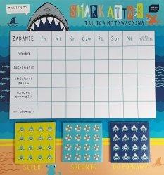 Tablica motywacyjna z naklejkami dla chłopca SHARK rekiny (55860)