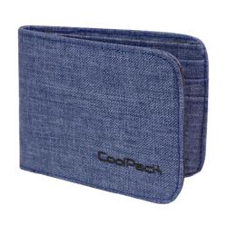 Portfel młodzieżowy COOLPACK PATRON niebieski, SNOW BLUE 859 (76166)