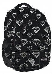 Plecak młodzieżowy ST.RIGHT w diamenty, DIAMONDS BP32 (21512)
