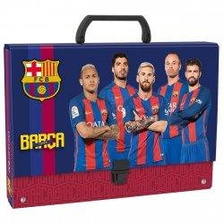 Teczka z rączką FC BARCELONA (TTRBC)