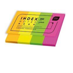 Zakładki indeksujące INDEX NOTES karteczki samoprzylepne  (66811)