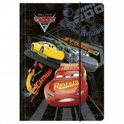 Teczka z gumką A4 Cars Auta, licencja Disney (TGA4CA11)
