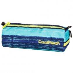 Piórnik CoolPack w niebieskie pasy TUBE BLUE LAGOON (61186)
