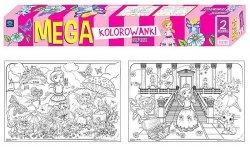 MEGA kolorowanka KSIĘŻNICZKI 2szt. (27621)