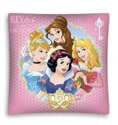 Poszewka na poduszkę 3D PRINCES Księżniczki 40 x 40 cm (PRI03MF)