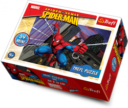 TREFL Puzzle mini 54 el. Spider Man (19372)