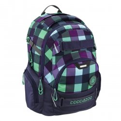 Plecak Coocazoo CarryLarry 2 MatchPatch, Green Purple District (138740)