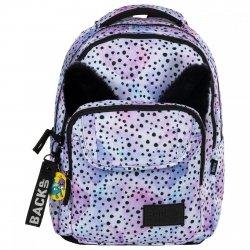 Plecak szkolny młodzieżowy BackUP OCELOT (PLB2L12 z uszami)