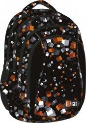 Plecak szkolny ST.RIGHT młodzieżowy w kostki, CUBES BP4 (21949)