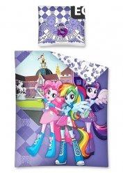Komplet pościeli pościel My Little Pony Equestria Girls 160 x 200 cm (EG07)