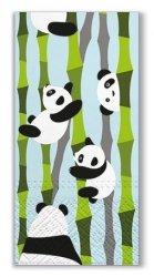 Chusteczki higieniczne PANDAS Misie panda, 10 sztuk (SDM000601)