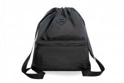 Plecak Sportowy Worek na sznurkach CoolPack URBAN czarny, SUPER BLACK (A46114)