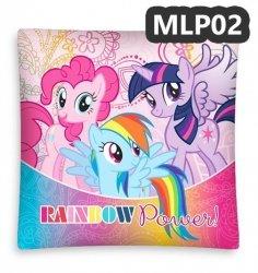 Poszewka na poduszkę My Little Pony Kucyki 40 x 40 cm (MLP02)