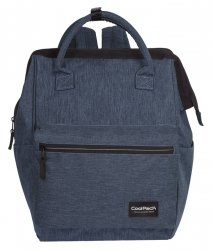 Plecak CoolPack TASK 2w1 torebka niebieski, SNOW BLUE/ SILVER (90490CP)
