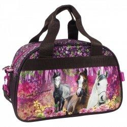 Torba podróżna, sportowa I LOVE HORSES Konie (TPKO15)