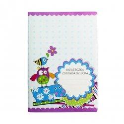 Etui okładka na książeczkę zdrowia dziecka HIPOPOTAM (02293)
