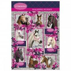Nalepki ozdobne I Love Horses KONIE (NFKO)