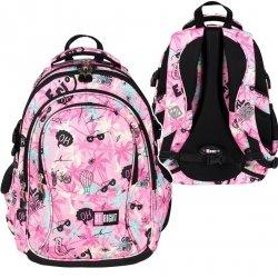 Plecak szkolny młodzieżowy ST.RIGHT pastelowe lato, PASTEL SUMMER BP1 (26203)