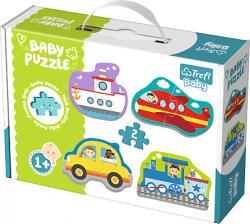 TREFL Puzzle BABY Pojazdy - transport (36075)