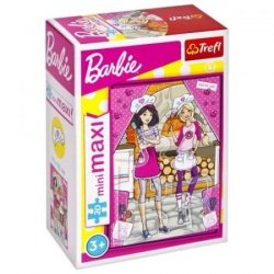 TREFL Puzzle miniMaxi 20 el. Barbie, Kucharka (21062)