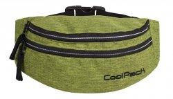 SASZETKA NERKA CoolPack na pas torba MADISON limonkowa, SNOW LIME/SILVER (88442CP)