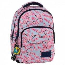 Plecak szkolny młodzieżowy BackUP KWIATY JABŁONI (PLB2L25)
