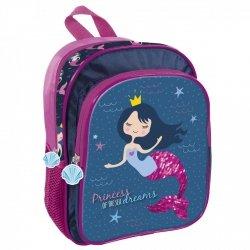 Plecak przedszkolny wycieczkowy MERMAID Syrenka (PL11SY10)