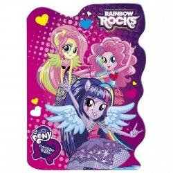 Notes kształtowy My Little Pony EQUESTRIA GIRLS MIX (NKA6EG)