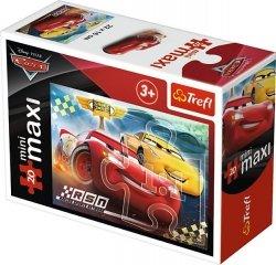 TREFL Puzzle miniMaxi 20 el. Cars Auta 3 ZYGZAK I CRUZ RAMIREZ (21045)