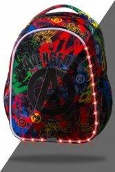 Plecak wczesnoszkolny CoolPack LED JOY S graffiti, AVENGERS (B47307)