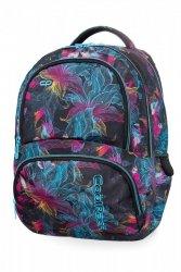 Plecak CoolPack SPINER w neonowe kwiaty, VIBRANT BLOOM (B01017)