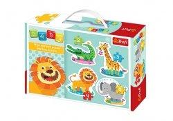 TREFL Puzzle BABY CLASSIC Na safari (36054)