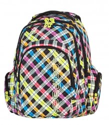 Plecak szkolny młodzieżowy COOLPACK SPARK COLOR CHECK (61001)