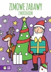 Kolorowanka Zimowe zabawy z Mikołajem ZIELONA SOWA (39857)